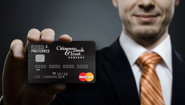 Business credit card reheart
